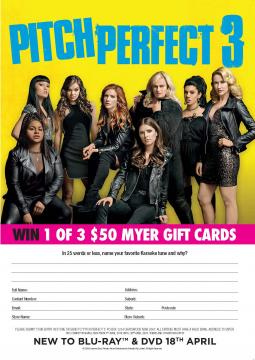 Pitch Perfect 3 Comp Page
